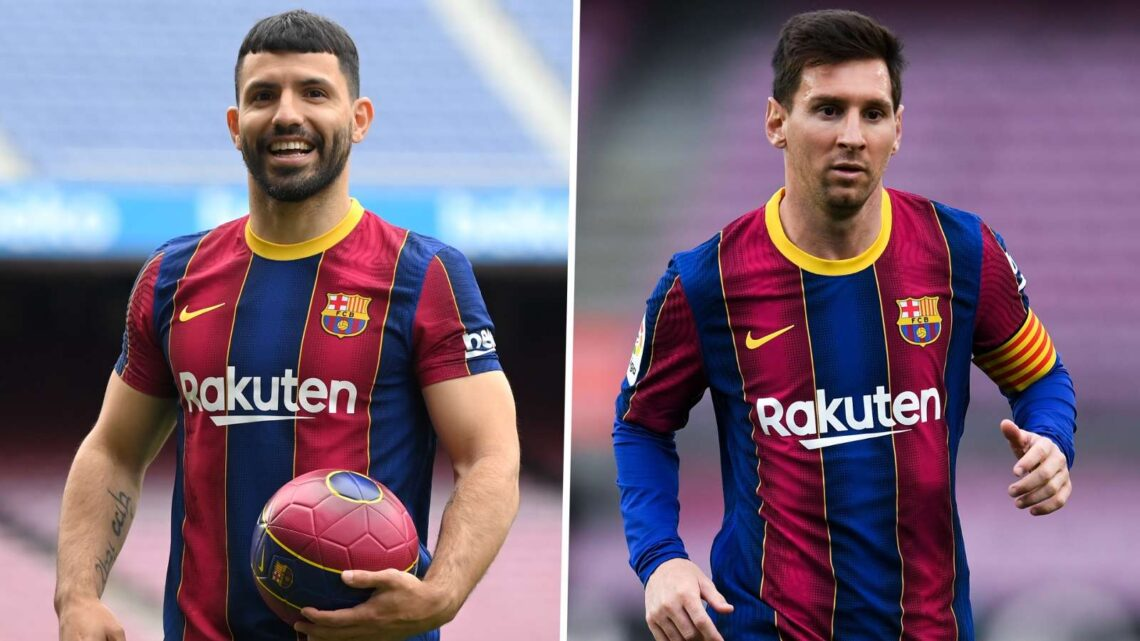Aguero and Messi – Barcelona's new-look attack in Argentina colours
