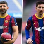 Aguero and Messi - Barcelona's new-look attack in Argentina colours